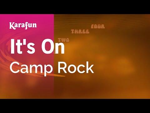Karaoke It's On - Camp Rock *