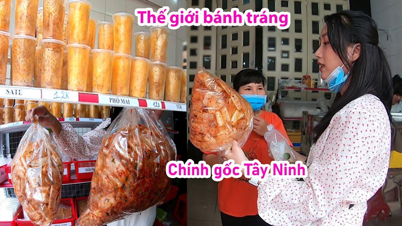 Lạ miệng bánh tráng phơi sương cuốn muối trứng cút của cô chủ Mai Mai dễ thương, chính gốc Tây Ninh