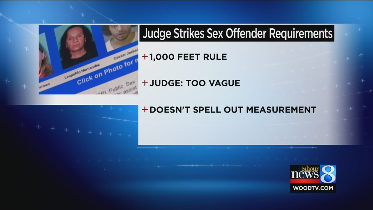 sex offender laws unconstitutional