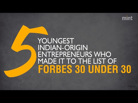 5 youngest Indian-origin entrepreneurs who made it to the list of Forbes 30 Under 30