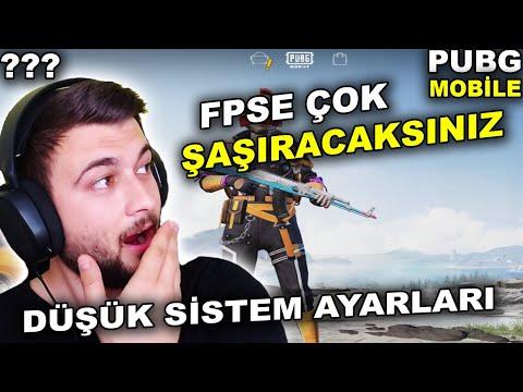 GAMELOOP DÜŞÜK SİSTEM AYARLARI / GAMELOOP KASMA SORUNU / PUBG MOBİLE KASMA SORUNU