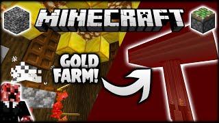 SUPER SIMPLE MINECRAFT GOLD FARM! | Let's Play Minecraft Survival