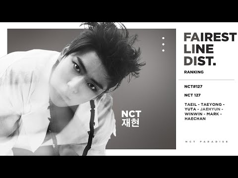 Fairest Line Distributions in NCT 127's First EP (NCT #127)