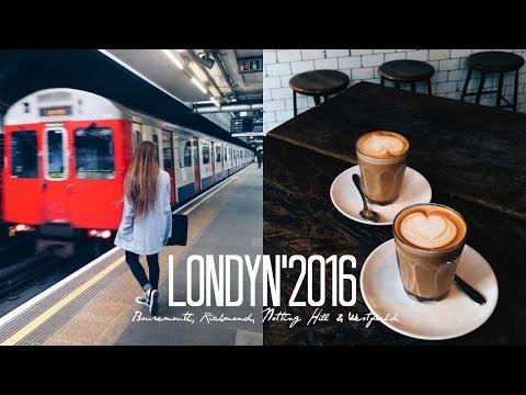 Londyn 2016' Bouremouth, Richmond, Notting Hill & Westfield | CZĘŚĆ II