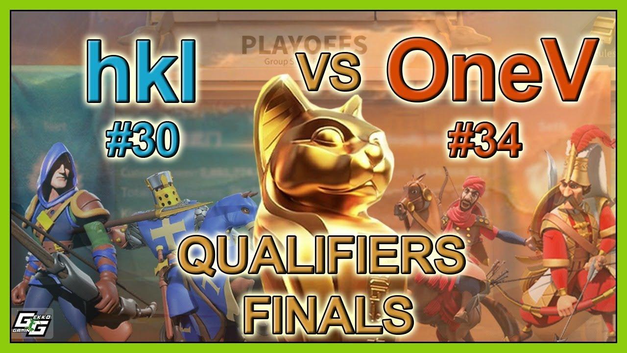 hkl vs OneV- QUALIFIERS FINALS - Osiris League S3 Live - Rise of Kingdoms