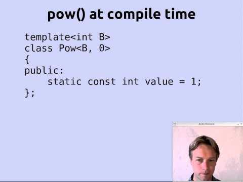 Simple Template Programming