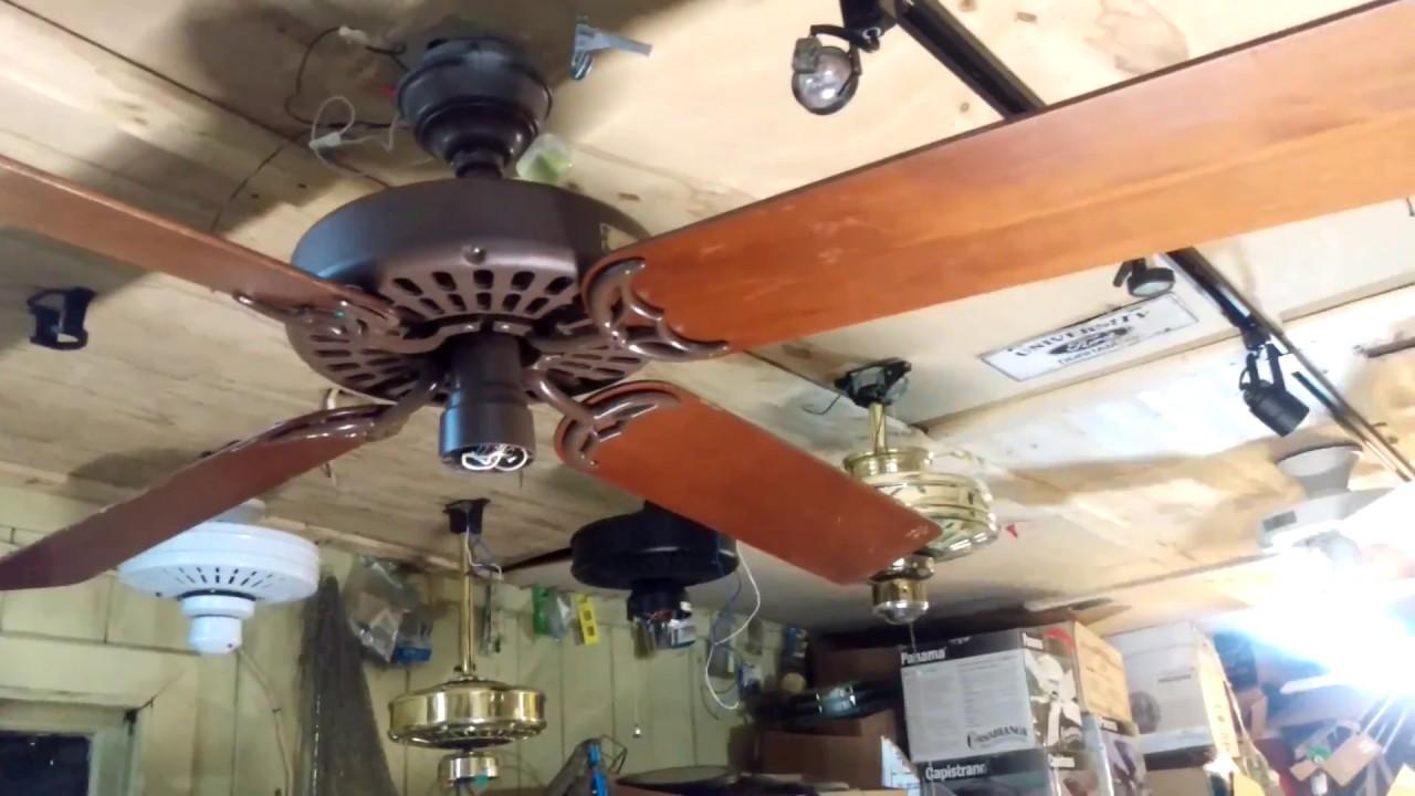 60 inch hunter original ceiling fan test run wobblesville baby 60 inch hunter original ceiling fan test run wobblesville baby aloadofball Images