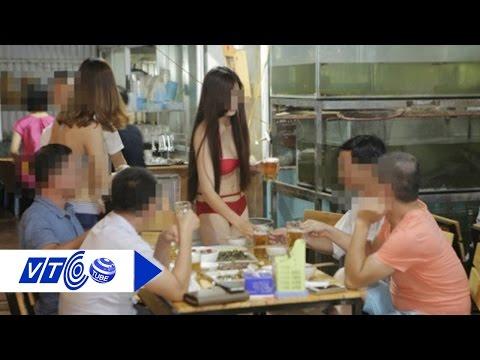 Đình chỉ nhà hàng cho PG mặc bikini rót bia | VTC1