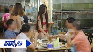 Đình chỉ nhà hàng cho PG mặc bikini rót bia | VTC