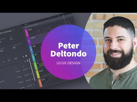UI/UX Design with Peter Deltondo - 1 of 3