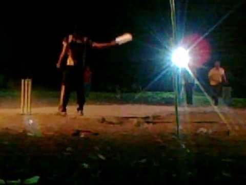 Raja Waseem sixs in sambrial night tournameant jaithiki