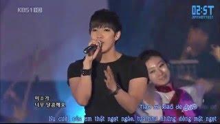 [Vietsub + Kara - 2ST] [100725] Điềm Mật Mật - Jun. K, Luna, Victoria @ KBS Open Concert