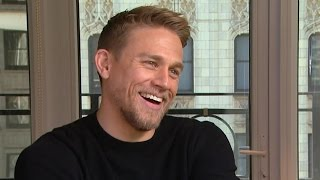 'King Arthur' Star Charlie Hunnam Opens Up About Being a Total Germophobe