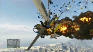 GTA 5 Funny Moments Montage - Blimping it! (Grand Theft Auto 5 Funny Gameplay Moments Montage)