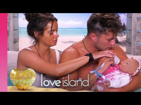 The Islanders' Parenting Skills Are Put To The Test | Love Island 2019