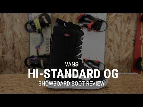 Vans Hi-Standard OG 2019 Snowboard Boot Review- Tactics