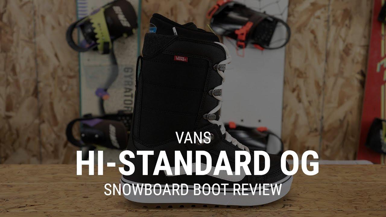 c5f3fd55b3 Vans Hi-Standard OG 2019 Snowboard Boot Review- Tactics - YouTube