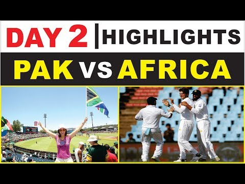 DAY 2 HIGHLIGHTS | PAkistan Vs South Africa | 1ST TEST | Day 2 | PAK VS AFRICA