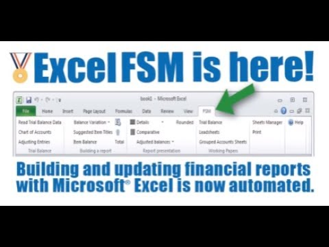 Excel Financial Statement Module Quick Overview - YouTube