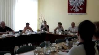 Jeziorany, posiedzenie Komisji w dniu 21 czerwca - spotkanie z dyrektorem MOK