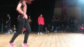 Battle Of The Year Balkans Preliminaries Cyprus - Bgirl battle final - (Bliss vs Nightmare)
