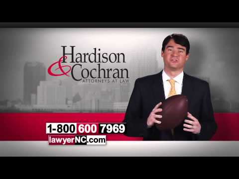 North Carolina Workers' Compensation Lawyers Football Hardison & Cochran