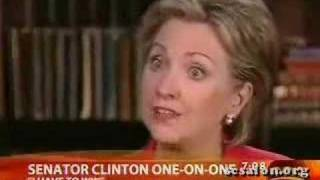 Clinton v Obama on Nuclear *Obliteration* Language