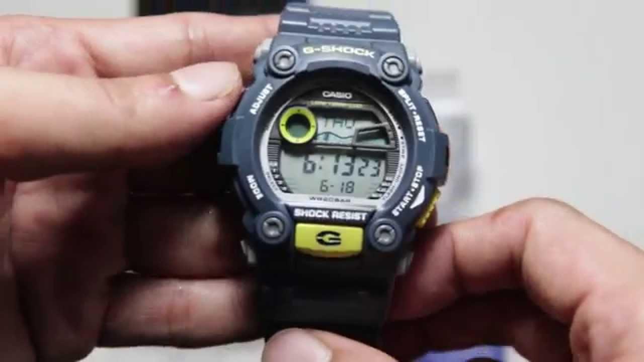Casio Gshock G-7900-2DR - YouTube 2d0e639bbea1b