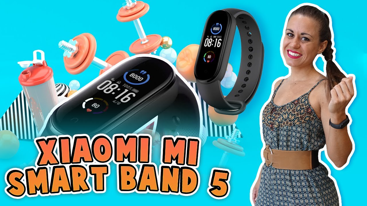 Xiaomi Mi Smart Band 5 - Review y unboxing en español