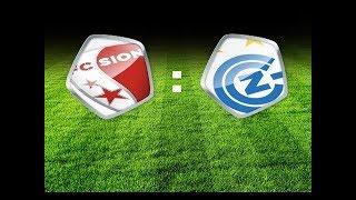 Fc Sion vs Fc GC Zürich (02.06.17)