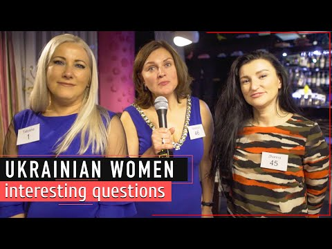 Ukrainian girls about dating a foreign man and foreign culture from YouTube · Duration:  16 minutes 16 seconds