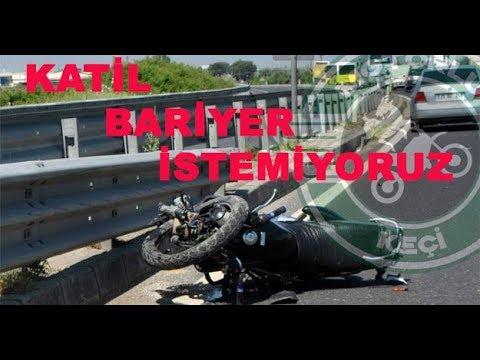 Katil bariyer istemiyoruz - Motosiklet sürücüsüne 'emniyet kemeri' cezası