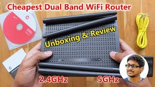 Digisol Budget Gigabit Dual Band WiFi Router Unboxing amp Review