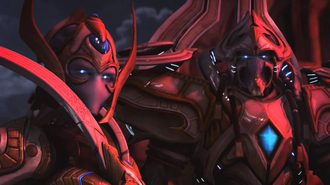StarCraft II Legacy of the Void - In Game Cinematic - Amon Defeated -  YouTube