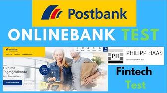 Postbank - So Girokonto und Geschäftskonto eröffnen - Test und Erfahrung der Onlinebank mit Filiale