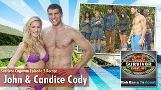 Survivor Cagayan Episode 2 Recap: John & Candice Cody Interview