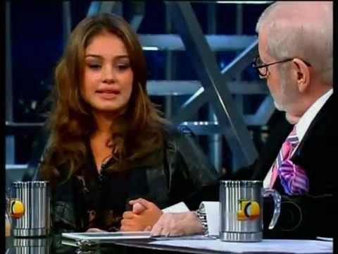 Programa Jô Soares - entrevista Sophie Charlotte 15/04/2011 (Parte 1/2)