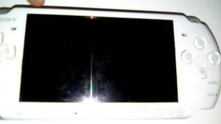 Ma PSP clignote écran noir