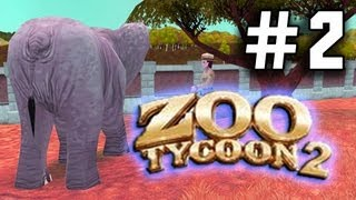 Zoo Tycoon 2: THE FUN PARK Ep. 2 - RAVE