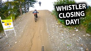 The Final Day to Send  Whistler Closing Day 2020 | Jordan Boostmaster
