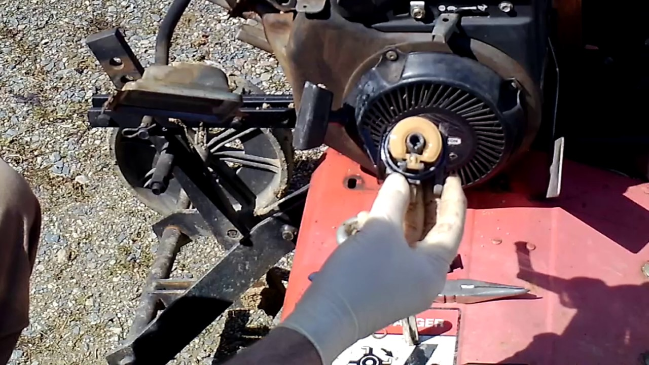 How To Remove And Clean Your Carburetor On Your Briggs & Stratton Engine