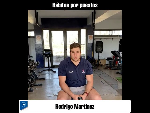 HÁBITOS POR PUESTOS - Rodrigo Martínez