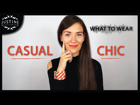 """How to add some """"chic"""" to a casual outfit ǀ What to wear: CASUAL CHIC ǀ Justine Leconte"""