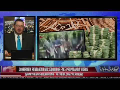 CONFIRMED  PENTAGON PAID $500M FOR FAKE PROPAGANDA VIDEOS