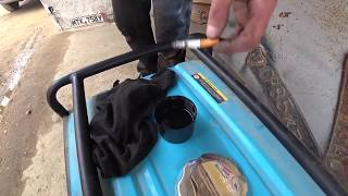 Тролинг Матвеева/Что будет если бросить окурок в бензин?