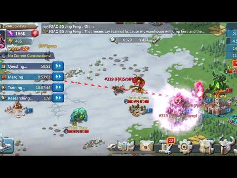 Lords Mobile: We Got A Dead Kingdom For KvK.......