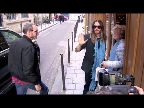 EXCLUSIVE: Jared Leto and Terry Richardson going to Mariage Freres tea salon in Paris
