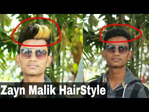 Zayn Malik HairStyle | How To Change HairStyle Like Celebrity In Picsart