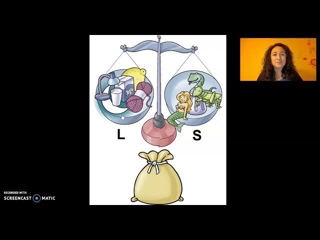 Discriminación auditiva de fonemas /L/ y /S/ - Colegio Huilco Alto