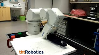 Adaptive Robotic Gripper. Different manipulation with objects